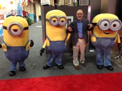 Your humble reporter befriends the Minions