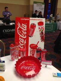 Coke bottle cap tray