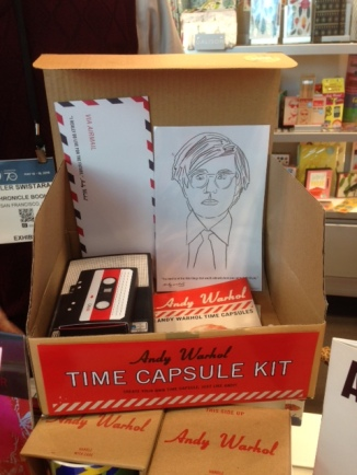 DIY Warhol Time Capsules