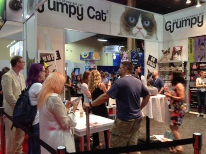 Grumpy Cat line