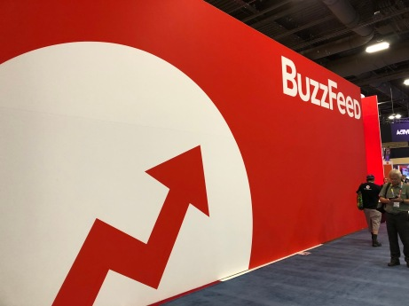 Buzzfeed booth Expo 2018