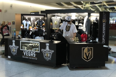 Knights hockey team popup 2018