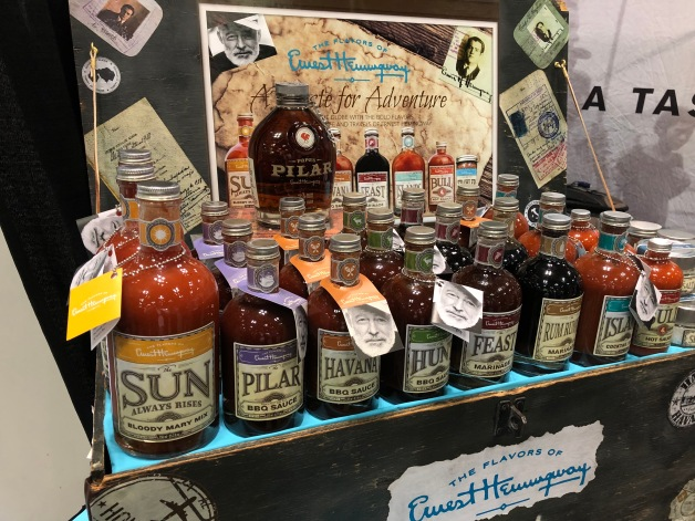 Flavors of Ernest Hemingway products