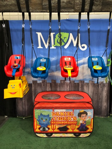 M&M licensed toddler swings